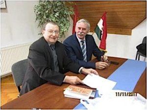 Načelnik Opčine Koljnof, Ferenbc Grubić i autor